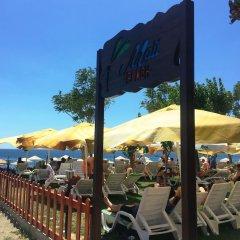 Отель Mali Beach Apart Otel пляж