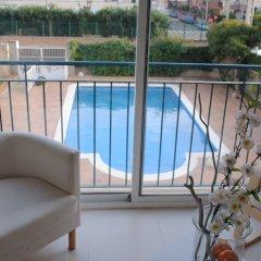 Отель Sant Jordi Испания, Калафель - отзывы, цены и фото номеров - забронировать отель Sant Jordi онлайн балкон
