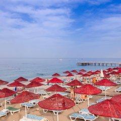 Holiday Garden Hotel Alanya Турция, Окурджалар - отзывы, цены и фото номеров - забронировать отель Holiday Garden Hotel Alanya онлайн пляж фото 2