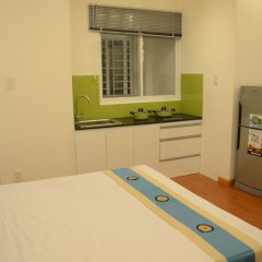 Апартаменты Smiley Apartment 2 Хошимин в номере фото 2
