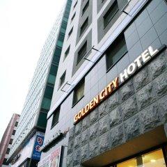Отель Golden City Hotel Dongdaemun Южная Корея, Сеул - отзывы, цены и фото номеров - забронировать отель Golden City Hotel Dongdaemun онлайн вид на фасад