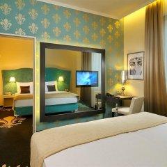 Отель La Prima Fashion Hotel Венгрия, Будапешт - 12 отзывов об отеле, цены и фото номеров - забронировать отель La Prima Fashion Hotel онлайн комната для гостей фото 2
