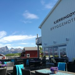 Отель Kjerringøy Bryggehotell гостиничный бар