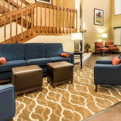 Отель Comfort Suites Effingham интерьер отеля фото 3