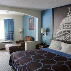 Отель Howard Johnson by Wyndham Vicksburg комната для гостей фото 2