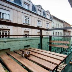 Отель Vagabond Corvin Венгрия, Будапешт - отзывы, цены и фото номеров - забронировать отель Vagabond Corvin онлайн балкон