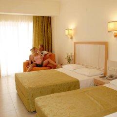 Отель Cleopatra Golden Beach Otel - All Inclusive комната для гостей