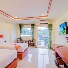 Отель Phaithong Sotel Resort 3* Улучшенный номер с различными типами кроватей фото 2