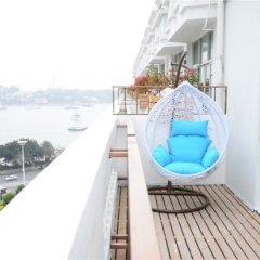 Отель Yitel Collection Xiamen Zhongshan Road Seaview Сямынь балкон