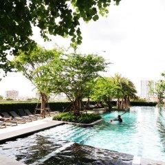 Отель Sukhumvit New Room BTS Bangna Таиланд, Бангкок - отзывы, цены и фото номеров - забронировать отель Sukhumvit New Room BTS Bangna онлайн бассейн фото 2