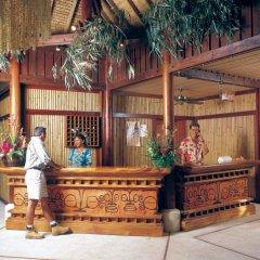 Отель Maitai Polynesia Французская Полинезия, Бора-Бора - отзывы, цены и фото номеров - забронировать отель Maitai Polynesia онлайн бассейн фото 3