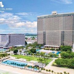 Отель Ambassador City Jomtien Pattaya - Ocean Wing пляж