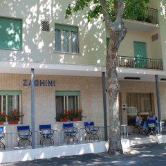 Hotel Zaghini Римини вид на фасад фото 2