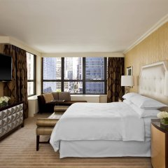Отель Sheraton New York Times Square Hotel США, Нью-Йорк - 1 отзыв об отеле, цены и фото номеров - забронировать отель Sheraton New York Times Square Hotel онлайн комната для гостей фото 3