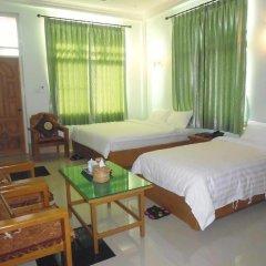 Отель Golden Kinnara Hotel Мьянма, Лашио - отзывы, цены и фото номеров - забронировать отель Golden Kinnara Hotel онлайн комната для гостей фото 2