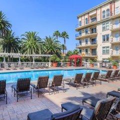 Апартаменты Downtown LA Inspiring Apartments бассейн фото 2