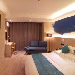Отель H Hotel (Xi'an Ming City Wall Ximenwai) Китай, Сиань - отзывы, цены и фото номеров - забронировать отель H Hotel (Xi'an Ming City Wall Ximenwai) онлайн комната для гостей фото 2