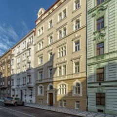 Отель Residence Dobrovskeho 30 Чехия, Прага - отзывы, цены и фото номеров - забронировать отель Residence Dobrovskeho 30 онлайн вид на фасад