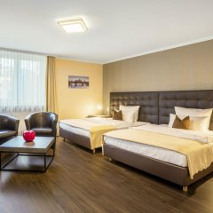 Hotel an der Messe комната для гостей фото 3