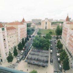 Отель Pensao Residencial Horizonte Лиссабон балкон
