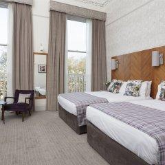 Отель Crowne Plaza Edinburgh - Royal Terrace Великобритания, Эдинбург - отзывы, цены и фото номеров - забронировать отель Crowne Plaza Edinburgh - Royal Terrace онлайн комната для гостей фото 2