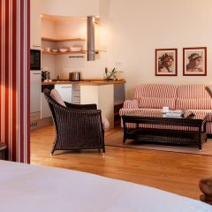 Апартаменты Hanse Clipper Haus Apartments Hamburg Гамбург комната для гостей фото 2