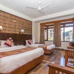 Отель Tulsi Непал, Покхара - отзывы, цены и фото номеров - забронировать отель Tulsi онлайн комната для гостей фото 4