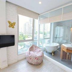 Отель Vacio Suite Бангкок комната для гостей фото 3