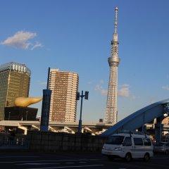 Hotel Hokke Club Asakusa городской автобус