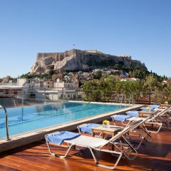 Отель Electra Palace Hotel Athens Греция, Афины - 1 отзыв об отеле, цены и фото номеров - забронировать отель Electra Palace Hotel Athens онлайн бассейн фото 2