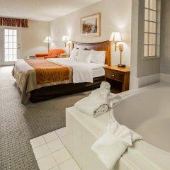 Отель Rodeway Inn And Suites On The River Чероки ванная