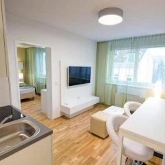 Отель Smart Apart Living Австрия, Вена - отзывы, цены и фото номеров - забронировать отель Smart Apart Living онлайн комната для гостей фото 4