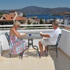 Navy Hotel Турция, Мармарис - 4 отзыва об отеле, цены и фото номеров - забронировать отель Navy Hotel онлайн балкон