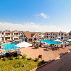 Гостиница Белый Пляж бассейн фото 2