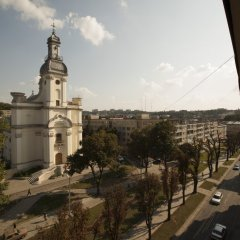 Гостиница Євроотель балкон