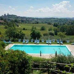Отель Villa Ducci Италия, Сан-Джиминьяно - отзывы, цены и фото номеров - забронировать отель Villa Ducci онлайн бассейн фото 3