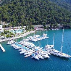 Yacht Classic Hotel - Boutique Class Турция, Гёчек - отзывы, цены и фото номеров - забронировать отель Yacht Classic Hotel - Boutique Class онлайн приотельная территория фото 2