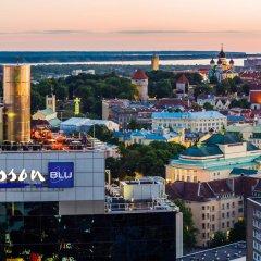 Отель Radisson Blu Sky Эстония, Таллин - 14 отзывов об отеле, цены и фото номеров - забронировать отель Radisson Blu Sky онлайн пляж