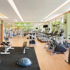 Отель Shangri-La's Mactan Resort & Spa фитнесс-зал фото 2