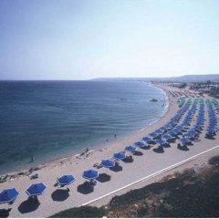 Отель Mitsis Family Village Beach Hotel Греция, Нисирос - отзывы, цены и фото номеров - забронировать отель Mitsis Family Village Beach Hotel онлайн пляж