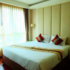 Апартаменты GM Serviced Apartment Бангкок комната для гостей фото 2