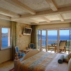 Likya Residence Hotel & Spa Boutique Class Калкан комната для гостей