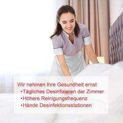 Отель Altstadthotel Wolf Зальцбург в номере