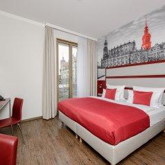 Отель Amedia Plaza Dresden Германия, Дрезден - 2 отзыва об отеле, цены и фото номеров - забронировать отель Amedia Plaza Dresden онлайн комната для гостей фото 4
