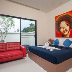 Отель Anchan Private Pool Villas комната для гостей