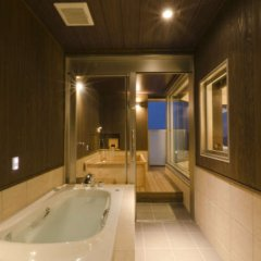 Отель Sansuikan Япония, Беппу - отзывы, цены и фото номеров - забронировать отель Sansuikan онлайн ванная фото 2