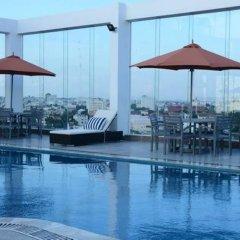 Hai Ba Trung Hotel and Spa фитнесс-зал фото 4