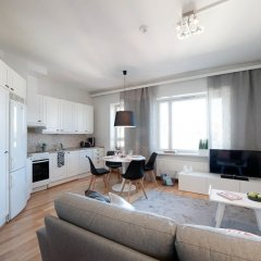 Апартаменты Forenom Serviced Apartments Helsinki Albertinkatu комната для гостей фото 5
