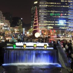 Отель The Westin Chosun Seoul Южная Корея, Сеул - отзывы, цены и фото номеров - забронировать отель The Westin Chosun Seoul онлайн приотельная территория