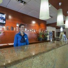 Отель Best Mediterraneo Испания, Салоу - 5 отзывов об отеле, цены и фото номеров - забронировать отель Best Mediterraneo онлайн интерьер отеля